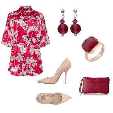 Outfit Tuta floreale#3