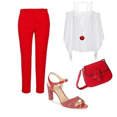 Outfit Rosso sprint