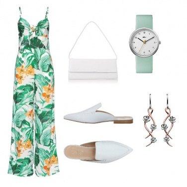 Outfit Tuta floreale#4