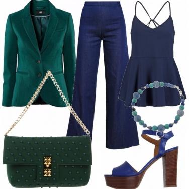 Outfit Sfumature di colori
