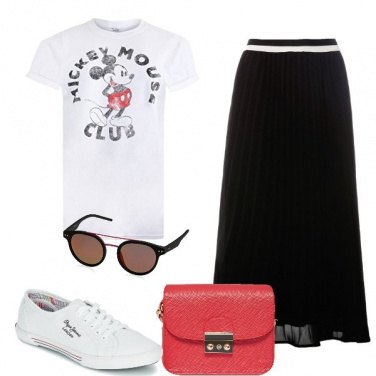 Outfit Io sto con Mickey