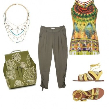 Outfit Etnico #1931