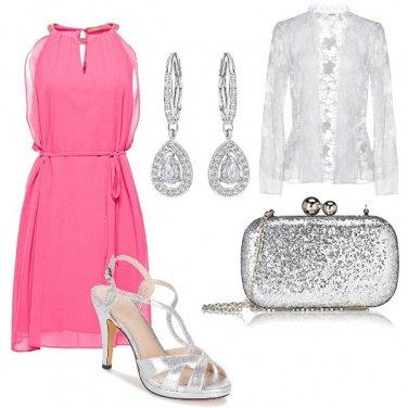 Outfit Fucsia silver e un pizzico di macram
