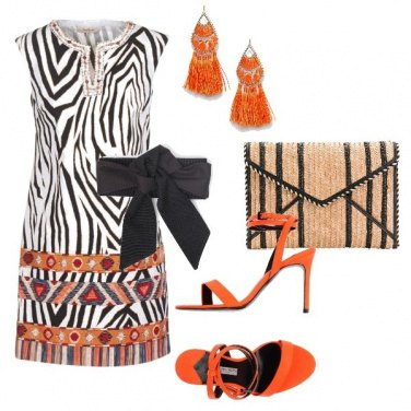 Outfit Etnico ma chic