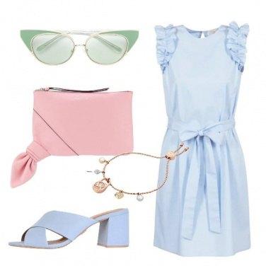 Outfit Deliziosi colori pastello