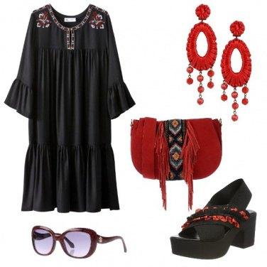 Outfit Uno stile etnico