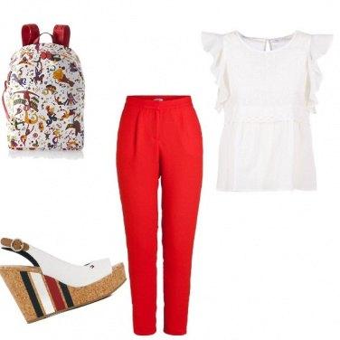 Outfit Semplicemente rosso!!