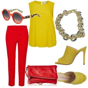 Outfit Le sfumature del sole
