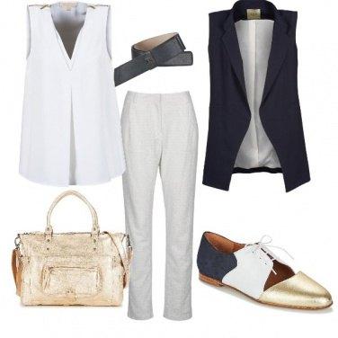 Outfit Borsa d\'oro al lavoro