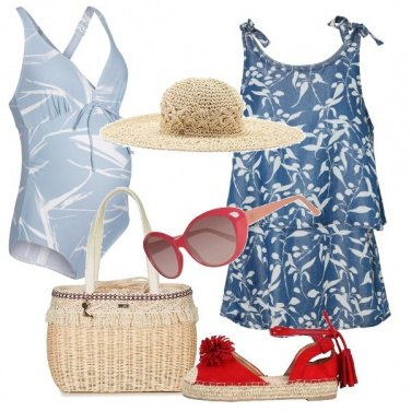 Outfit Al mare in due