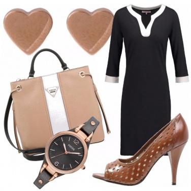Outfit Minimal chic in ufficio