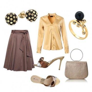 Outfit CMPS Il fruscio della seta