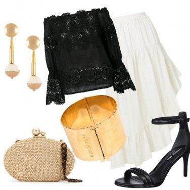 Outfit Gitana raffinata