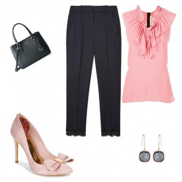 Outfit Rosa Casual