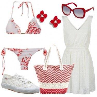 Outfit Il bikini con i coralli