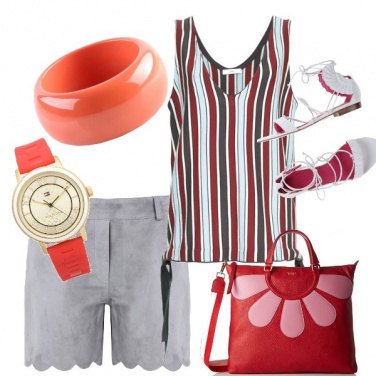 Outfit Righe colorate