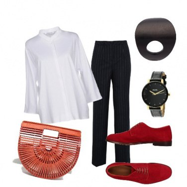 Outfit Mannish ma non troppo!