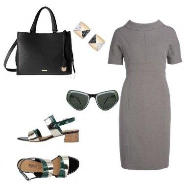 Outfit Bon Ton, con tocco accessori chic