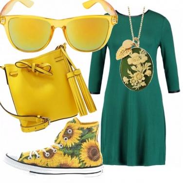 Outfit Come un girasole