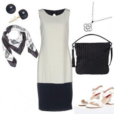 Outfit Chic, bianco e nero