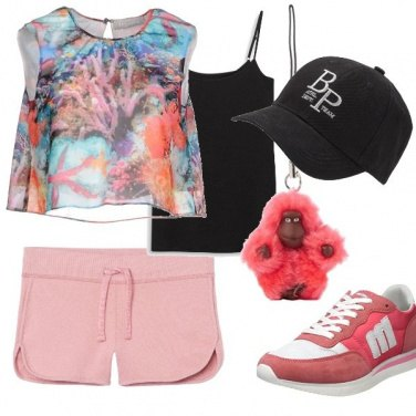 Outfit Pink run