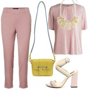 Outfit Tinta rosa