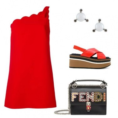 Outfit Le zeppe rosse