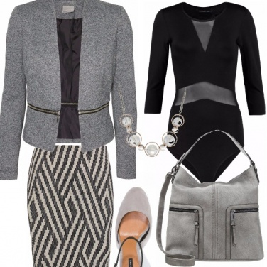 Outfit Solo grigio