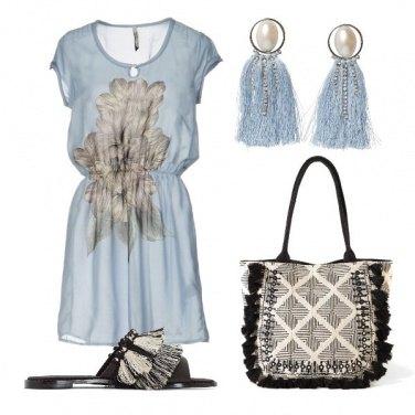 Outfit Bon ton etnico