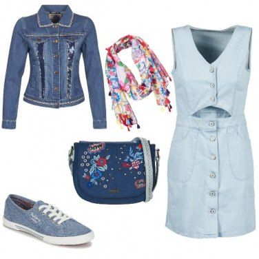 Outfit Coperta di jeans