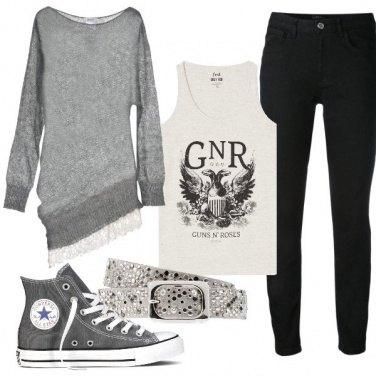 Outfit Al concerto dei Guns n Roses