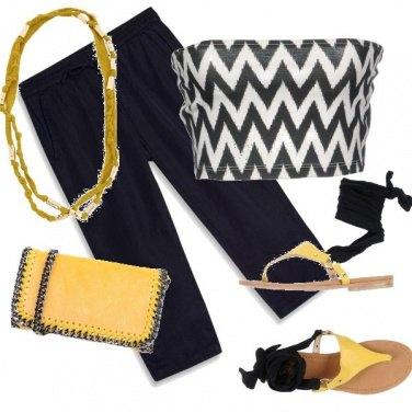 Outfit Pantalone Capri