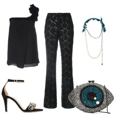 Outfit Focus sul pantalone