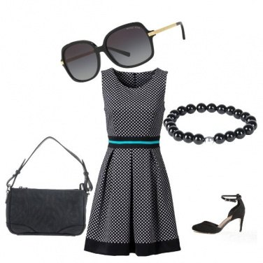 Outfit Sole nero