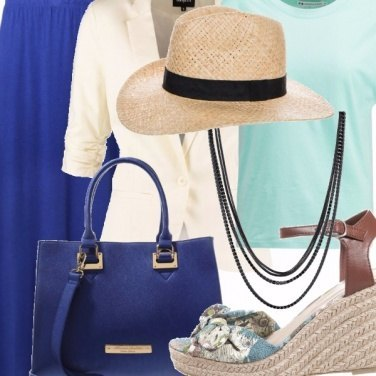Outfit Voglia di vacanza in città...