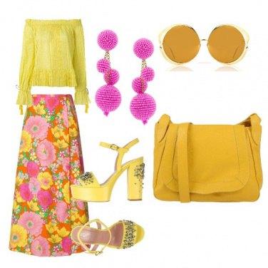 Outfit Sandalo brillante