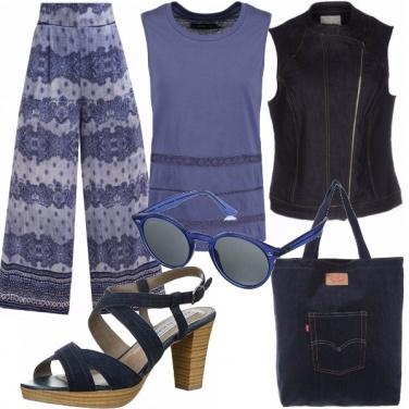Outfit Denim e blu