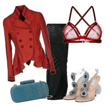 Outfit Tocco di colore - serata sexy
