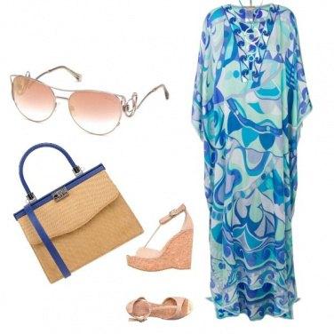 Outfit Sera in blu
