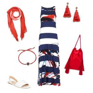 Outfit Stile mariniere alternativo