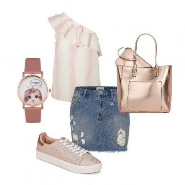 Outfit Metal pink