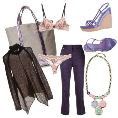 Outfit CMPS Deep purple