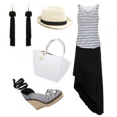 Outfit Mare in bianco e nero