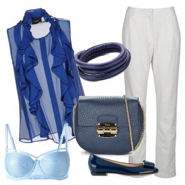 Outfit Sexy blue