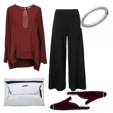 Outfit Ciabatta sofisticata
