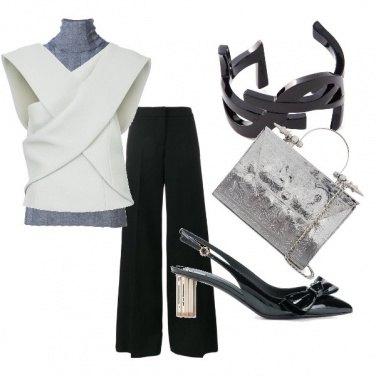 Outfit Serata geometrica