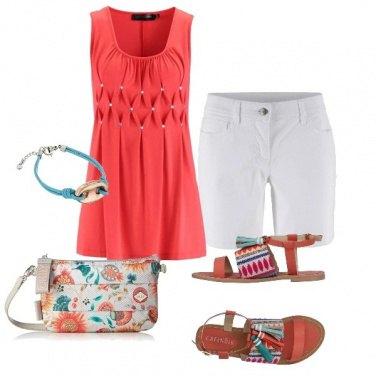 Outfit Tramonto sulla spiaggia