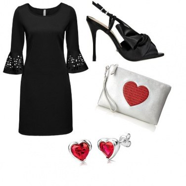 Outfit Red heart