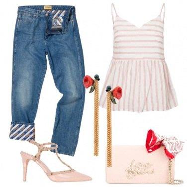 Outfit Serata con un tocco Bon Ton