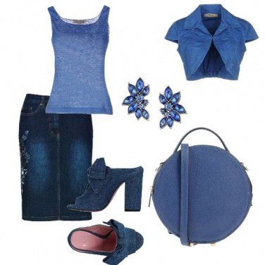 Outfit Serata in blue